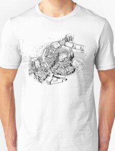BBC Television Centre floorplan Unisex T-Shirt