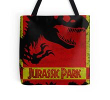 Unofficial Jurassic Park Movie Poster Tote Bag