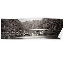 bridge across cataract gorge Poster