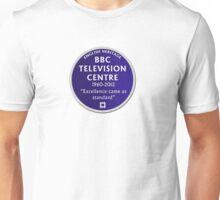 Blue Plaque for BBC Television Centre Unisex T-Shirt