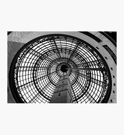Enclosed heritage - shot tower, Melbourne Photographic Print