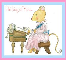 LETTER MOUSE by Lynn Wright