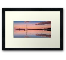 A Piece of Tranquility Shornecliffe Brisbane Framed Print