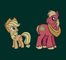 Big Macintosh And Apple Jack by Clinkz