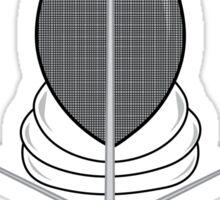 Fencing Shield Sticker