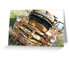 1954 Chevy 4400  Greeting Card