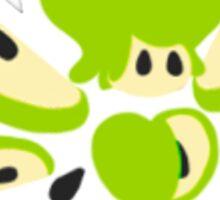 Green Apple Fairy Sticker