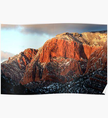 Kolob Canyon Plateau Poster