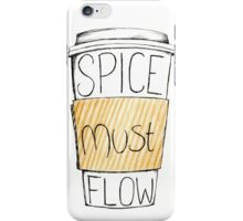 Spice Must Flow iPhone Case/Skin