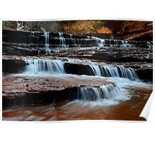 Waterfall On North Creek Poster