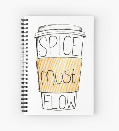Spice Must Flow Spiral Notebook