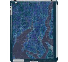 USGS Topo Map Washington State WA Gig Harbor 241265 1943 62500 Inverted iPad Case/Skin