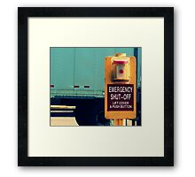 Temptation or But What Does It Do? Framed Print