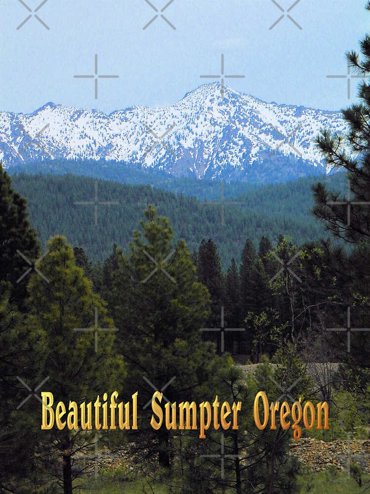 Beautiful Sumpter Oregon by Betty  Town Duncan