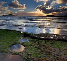 Magic Hour Garth's Beach by Kylie  Sheahen