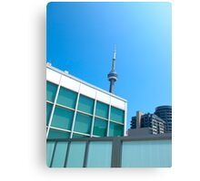 Looking up at Skydome Canvas Print