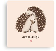 Hedge-hugs Canvas Print