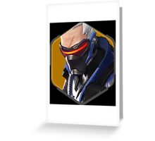 Soldier: 76  Greeting Card