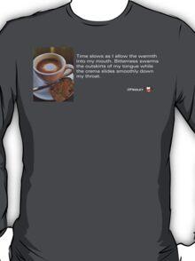 Caffeinated Poetry - Bitter bliss T-Shirt
