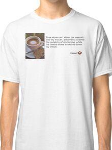 Caffeinated Poetry - Bitter bliss - Sticker Classic T-Shirt