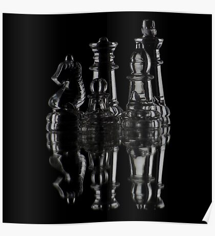 Glass Chess Poster