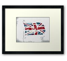 The Abstract Union Jack Framed Print