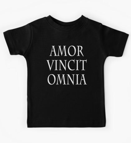 LOVE CONQUERS ALL Kids Tee