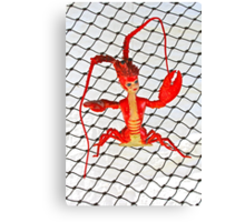 Lobster Girl  Canvas Print