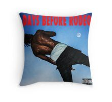 Days Before Rodeo Throw Pillow