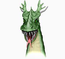 Green Dragon Head Unisex T-Shirt