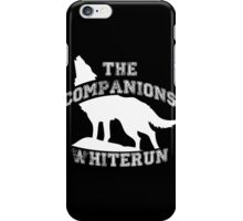 The companions of Whiterun - White iPhone Case/Skin