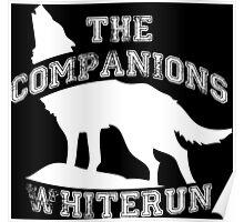 The companions of Whiterun - White Poster