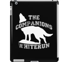 The companions of Whiterun - White iPad Case/Skin