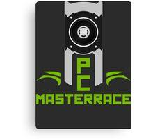PC MasterRace [Nvidia Titan] Canvas Print