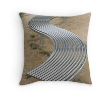Topsy Curvy Throw Pillow