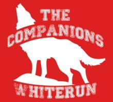The companions of Whiterun - White Baby Tee