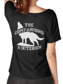 The companions of Whiterun - White Women's Relaxed Fit T-Shirt