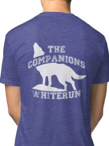 The companions of Whiterun - White Tri-blend T-Shirt