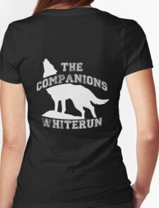 The companions of Whiterun - White Womens Fitted T-Shirt