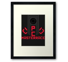 PC MasterRace [AMD] Framed Print