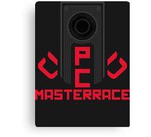 PC MasterRace [AMD] Canvas Print