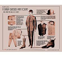 sharp dressed man Photographic Print