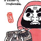 The Angler (Daruma Doll Series) by dosankodebbie