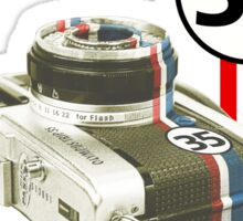 The Shutterbug Sticker