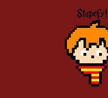 Pixel Ron by ifgrasscould