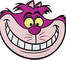 Sticker - Cheshire Cat by SBRGdesign