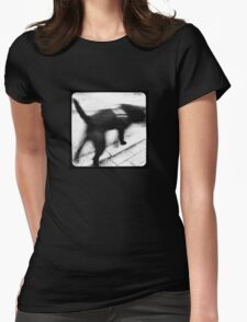 Dog TtV Womens Fitted T-Shirt