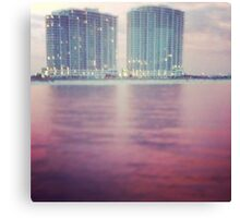 Hotels on the Water Canvas Print