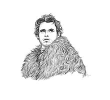 Robb Stark by Paradoxthis