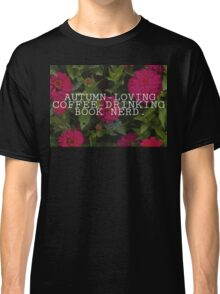 Basic Book Nerd Classic T-Shirt